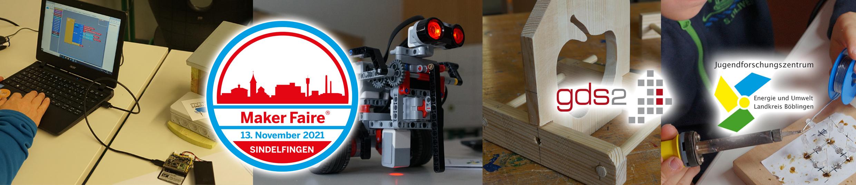 Maker Faire Sindelfingen 2021 – eine unabhängig organisierte Veranstaltung unter der Lizenz von Maker Media, Inc.